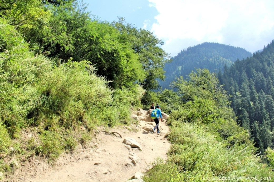 Kheerganga trek from Kasol