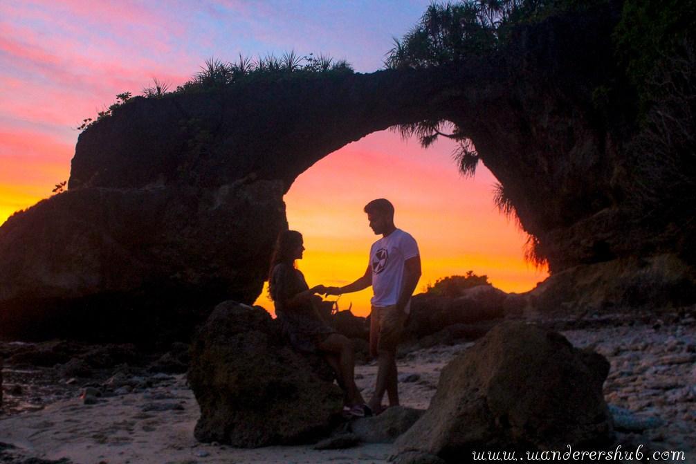 neil island andaman sunset picture