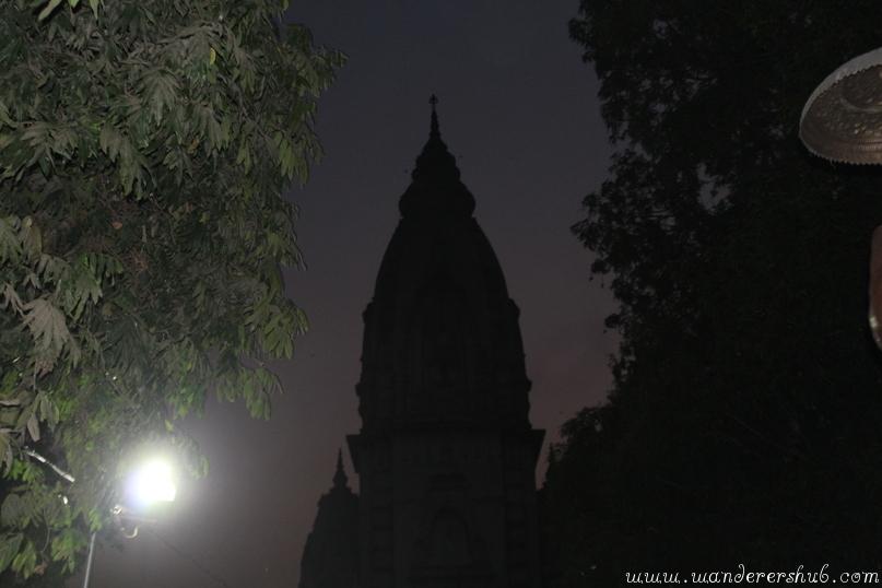 Kashi Temple Night time - Delhi to Varanasi