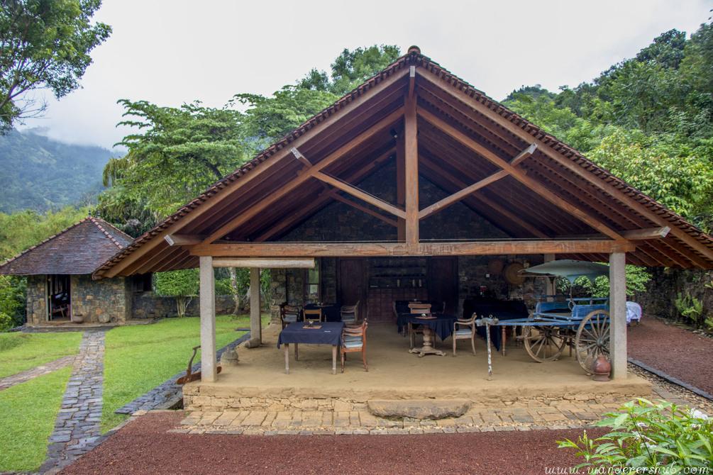 breakfast in Living Heritage Koslanda Sri Lanka