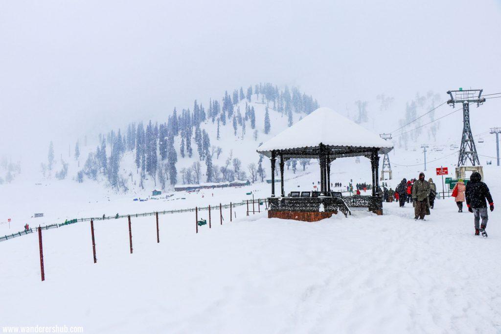 snow pictures of Gulmarg Kashmir