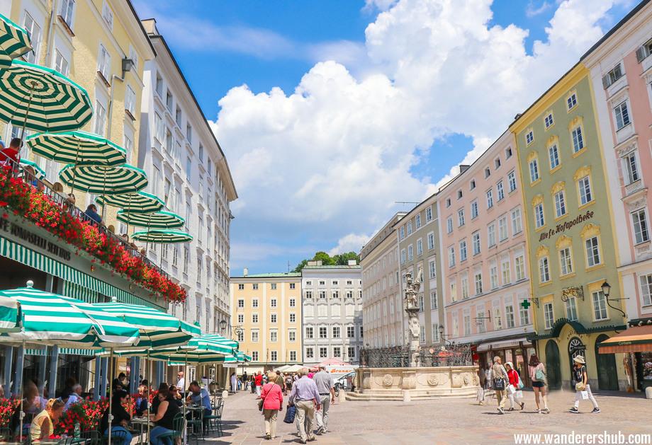 Austria Salzburg market