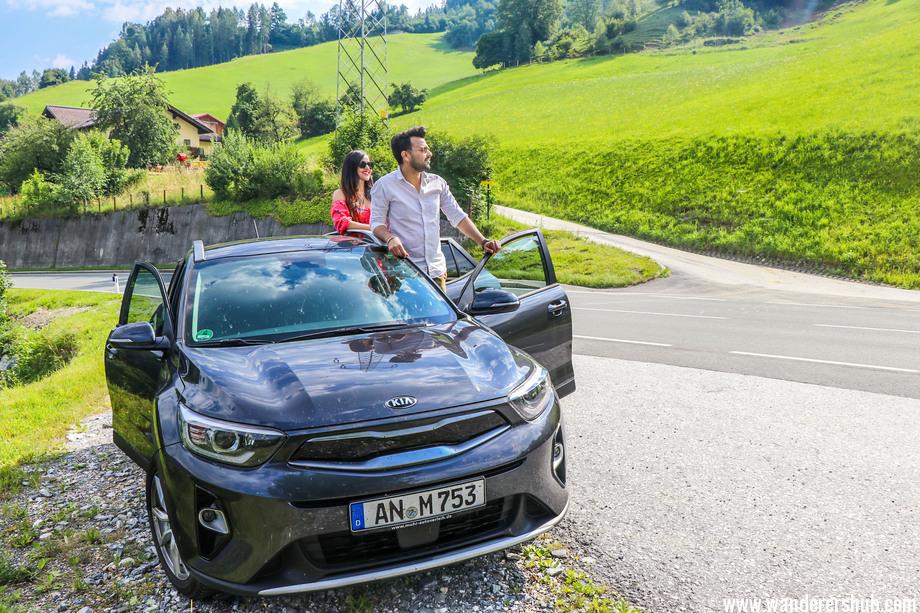 road trip in Salzburg