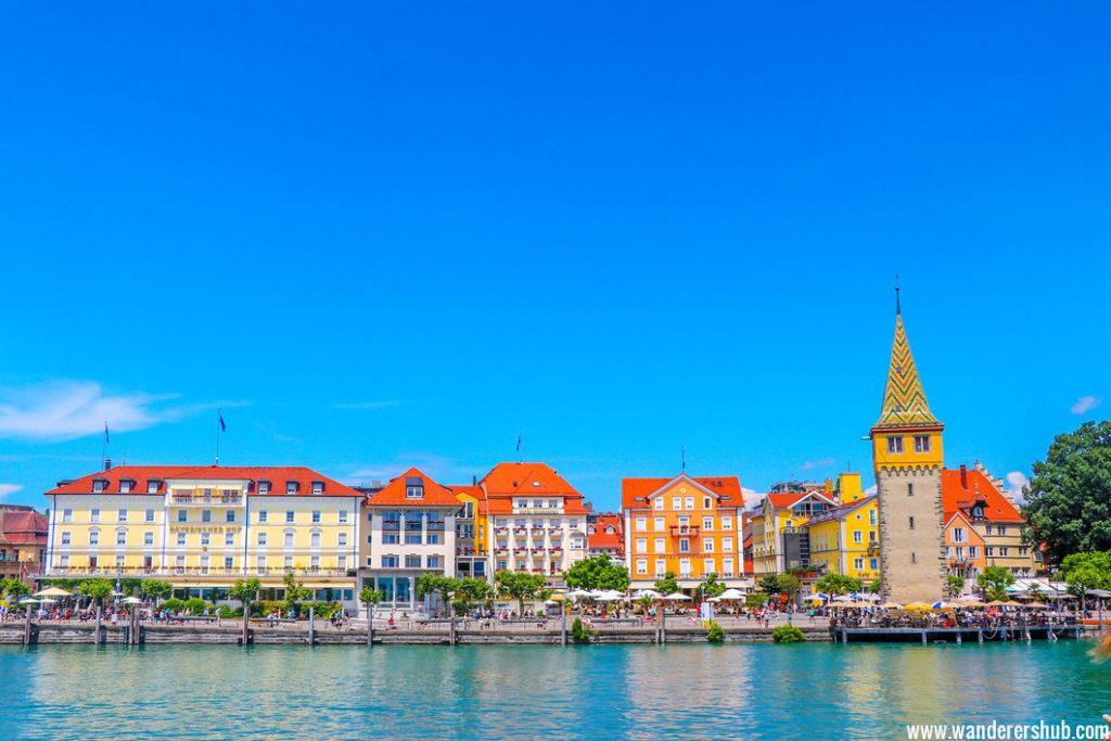 Lindau harbour