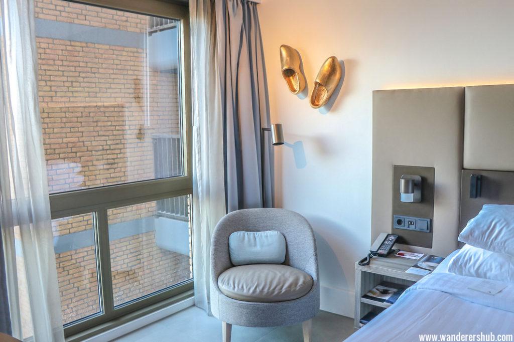 Amsterdam Marriott Hotel room