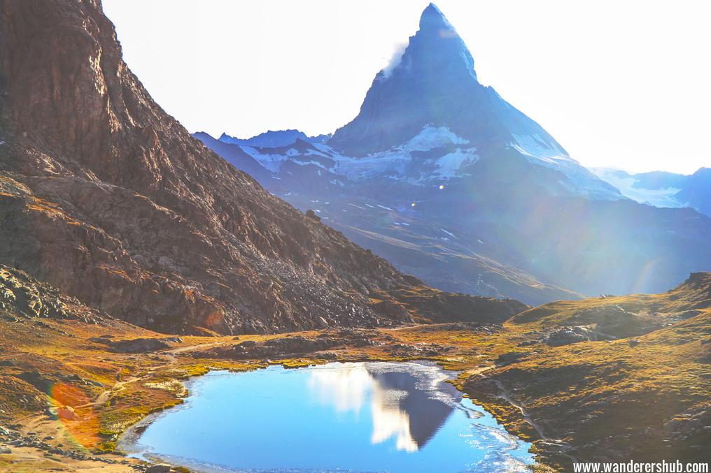 the Matterhorn Mountain Zermatt