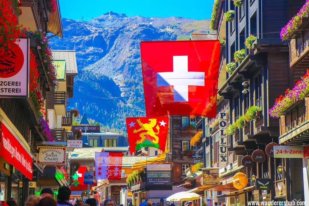 cute Zermatt town