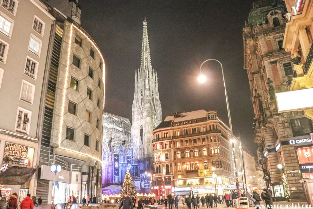 visit Vienna in winters