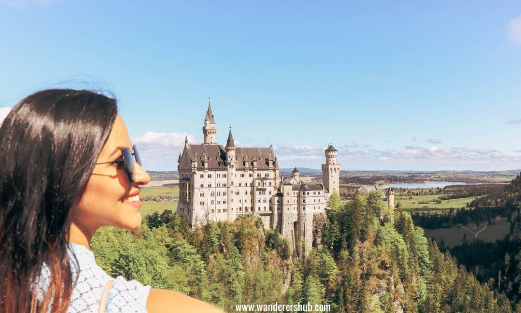 7 days tour Germany by train