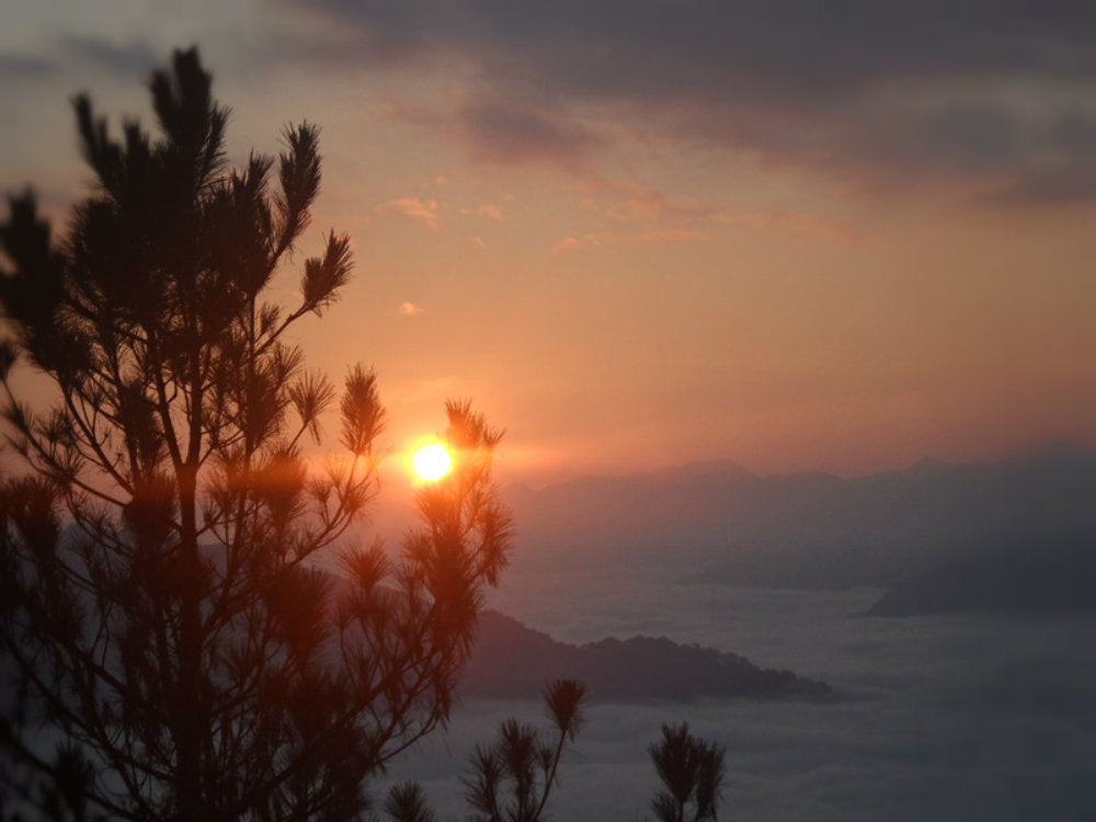 sunrise at sagada mat kiltepan
