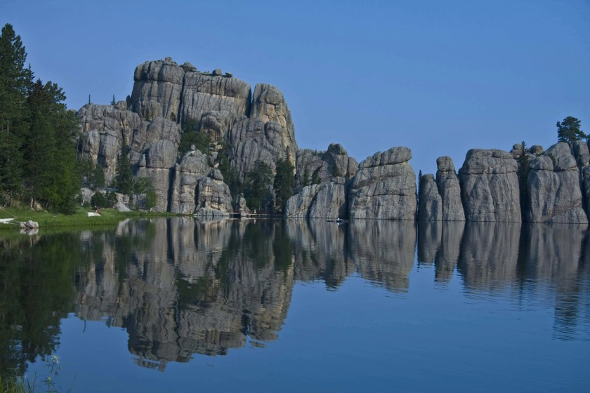 Sylvan Lake in Custer State Park