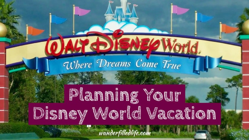 Planning Your Disney World Vacation