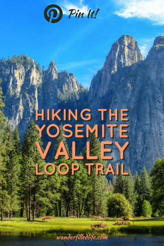 A review of our hike along the Yosemite Valley Loop Trail, including Yosemite Falls and Mirror Lake. See the best of Yosemite Valley in one big loop!