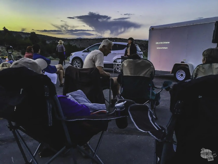 Great Basin does astronomy programs three nights a week in the summer.