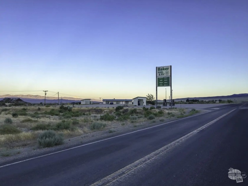 Baker Fuel is one of the few gas stations in the Great Basin of Nevada.