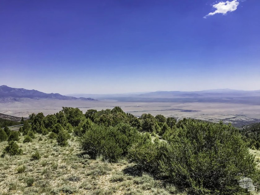 Looking over the Great Basin from the Wheeler Peak Scenic Drive.
