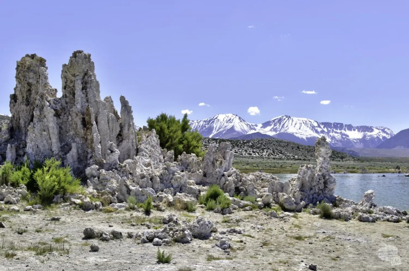 Tufa is one very unique feature of Mono Lake.