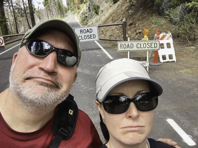 Tioga Road Closed