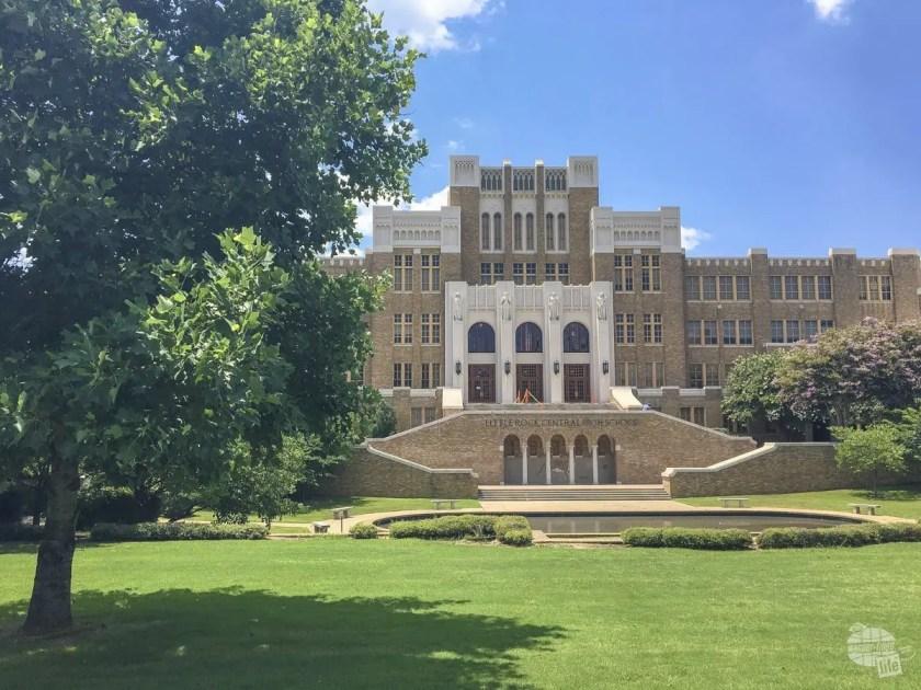 Little Rock Central High School in Little Rock, Arkansas