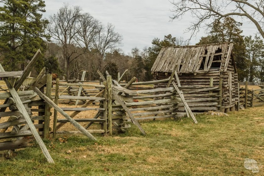 The George Washington Birthplace National Monument is operated like a farm with livestock and crops.