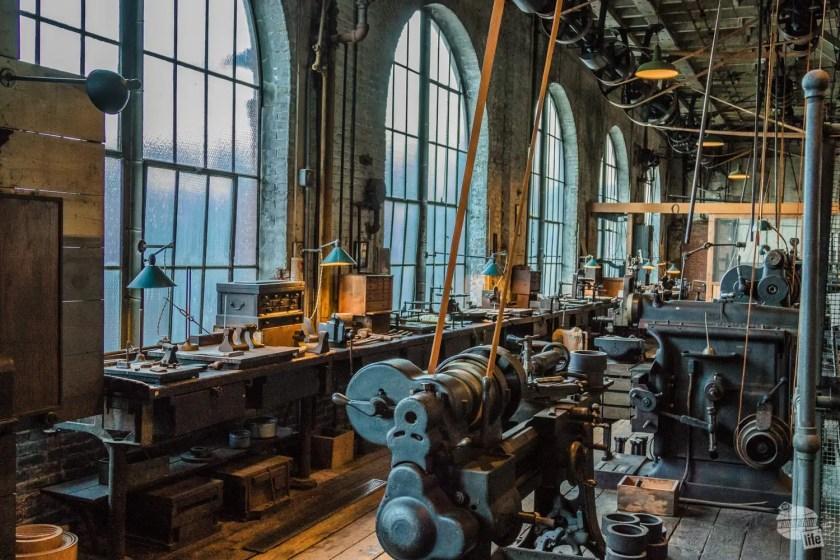 Machinery Shop at Thomas Edison NHP.