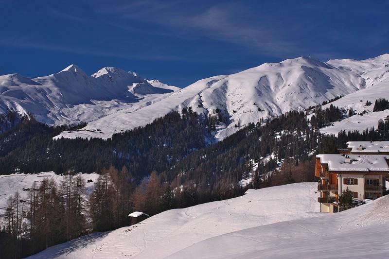 Davons, Graubünden im Winter, Wanderforum
