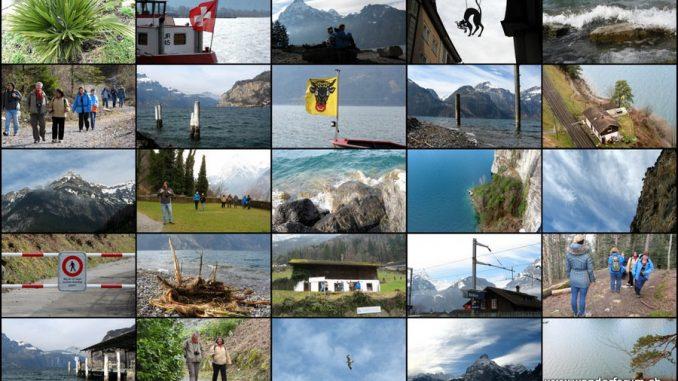 Wandergruppe, Wandertipps Vierwaldstättersee