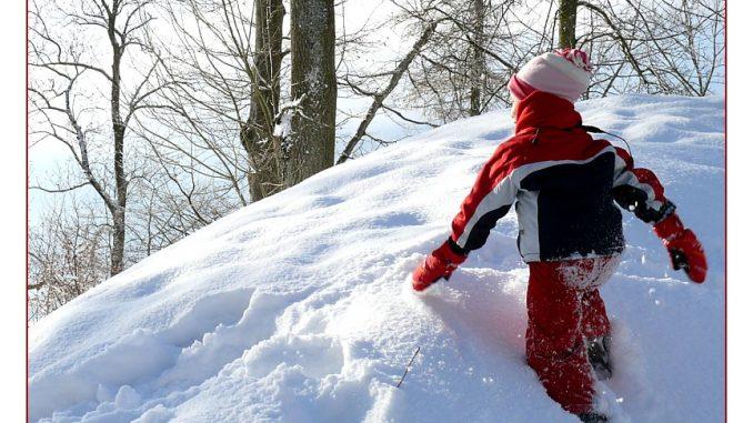 Wandern im Winter, wandern mit Kindern, Winterwanderungen
