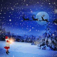 Weisse Weihnachten auf der Rigi, 24.12.18