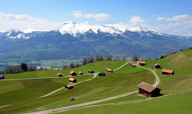 Wanderung in Liechtenstein