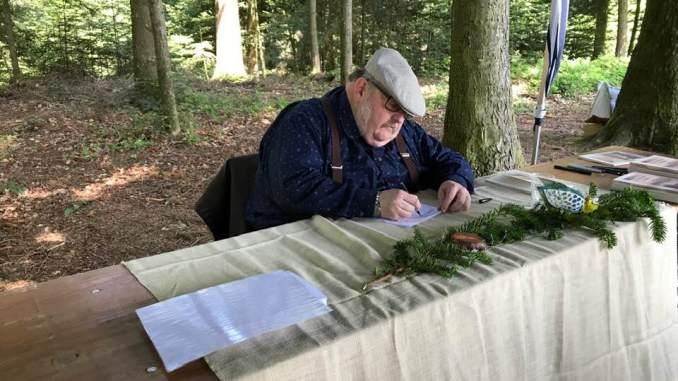 Lokalhistoriker Hans Minder
