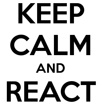 INSPIRATIONS_1. Do you want do be happy_keep-calm-and-react