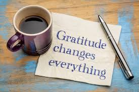 Gratitude changes everything