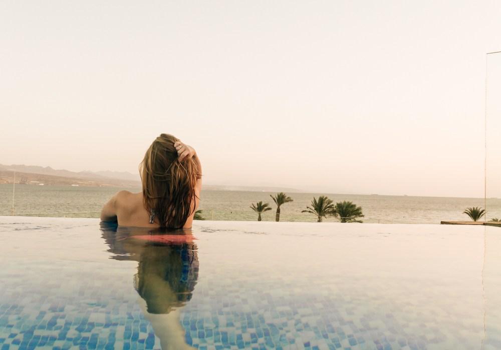 Eilat (Ejlat): Hotel z prywatnym infinity pool, czyli Orchid Reef