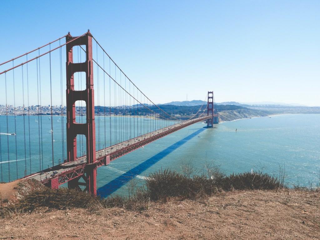 San Francisco, Golden Gate Bridge Kalifornia USA wandergirl blog podróżniczy blog o podróżach blog turystyczny