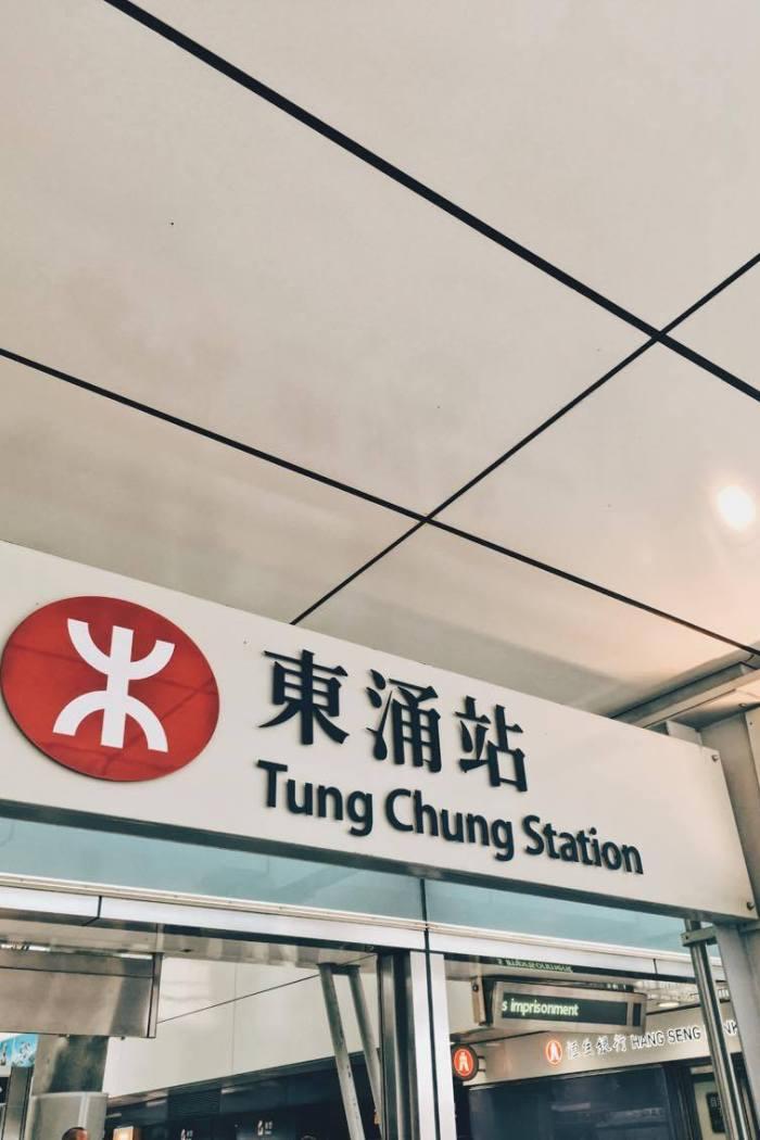 Z lotniska w Hongkongu do centrum miasta