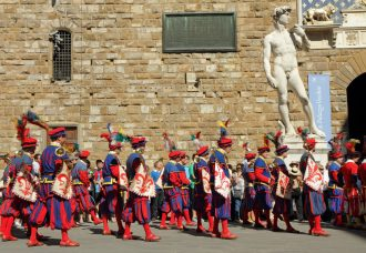 Calcio Storico in Florence, Italy