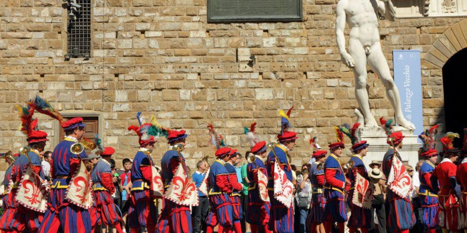 Calcio Storico in Florence, Italy
