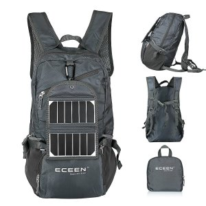 ECEEN best hiking daypack with solar panel