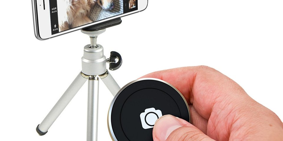 Satechi BT Button Series best bluetooth remote shutter for phone