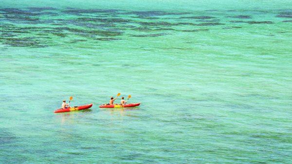Kayak to Monkey Beach