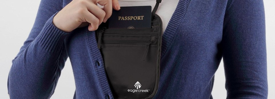 Eagle Creek Neck Wallet best security wallet