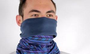 Polar Buff multi-functional headwear in use
