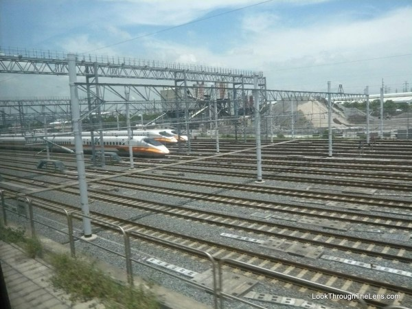getting around taipei - bullet train