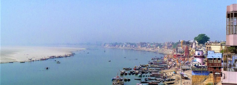 The River Ganges in Varanasi