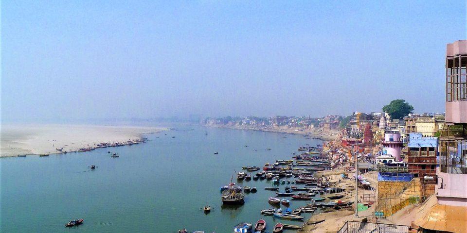 The River Ganges in Varanasi