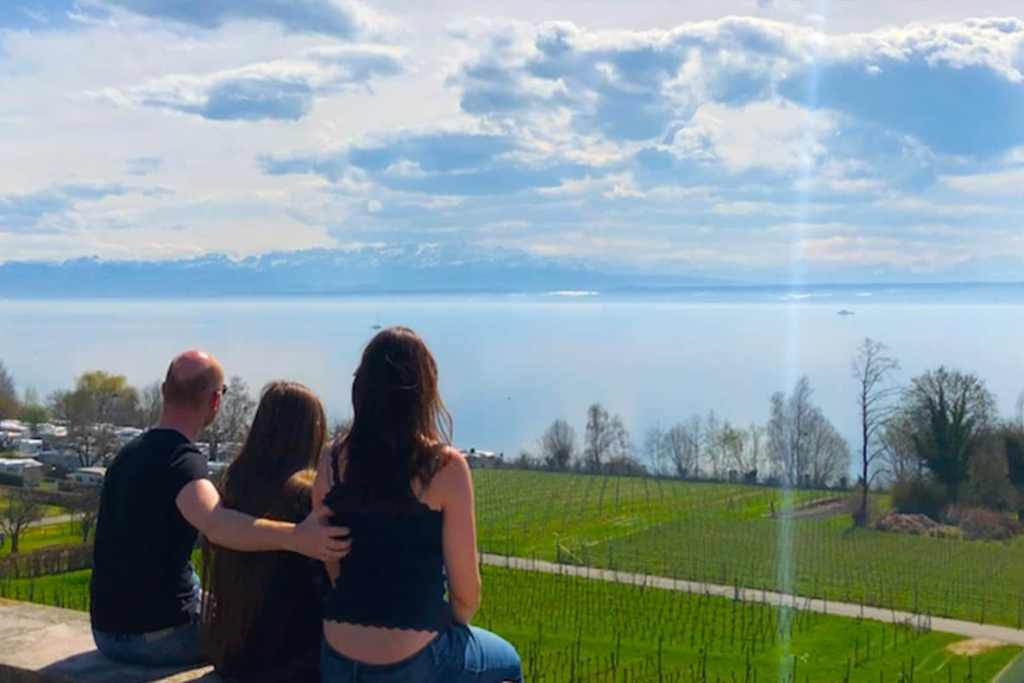 Road Trip by Lake Constance Germany. Such a beautiful place to include in your road trip- Lake Constance, Germany. #germany #lakeconstance #roadtrip #tour #motorhome #vanlife #wanderingbird #lake #stellplatz #camping