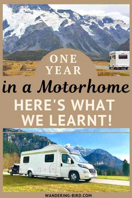 10 essential tips for campervan and motorhome life. Whether you're plan a road trip or full-time van living, these hacks and ideas with help. #campervan #motorhome #tips #hacks