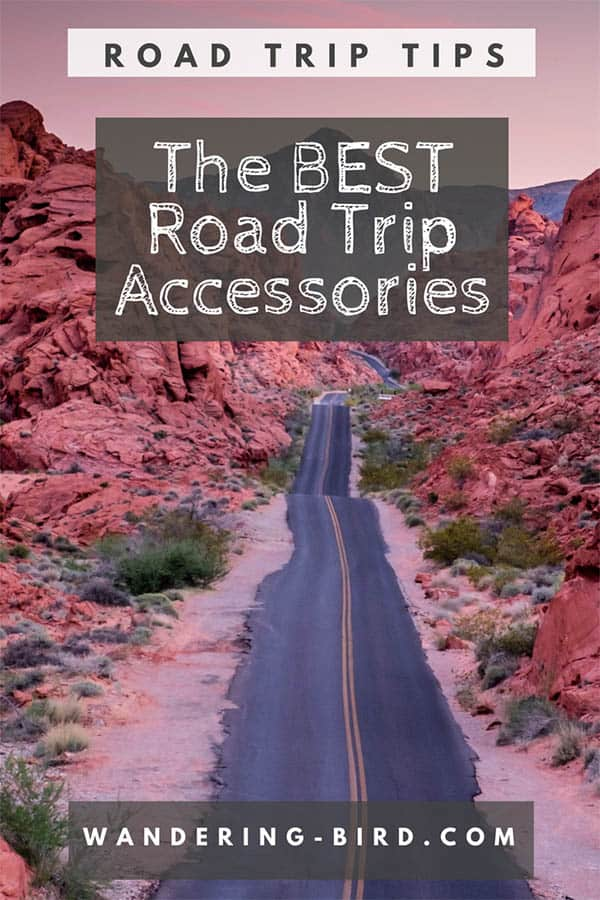 Looking for the best road trip accessories? All the things to make your road trips so much better? Look no further- this list has everything you need. #roadtrip #travel #accessories #tips #hacks #motorhome #RV #things