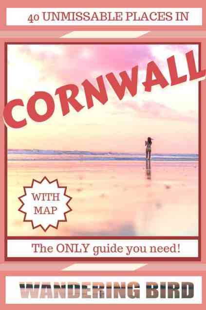 Looking for the best places to see on a Cornwall Road Trip? Here are 40 UNMISSABLE places to see in Cornwall to make your road trip the best it can be! #map #cornwall #roadtrip #itinerary #travel #UK